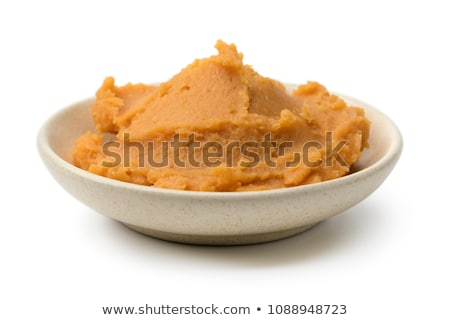 feijões · molho · tigela · comida · cor - foto stock © zkruger