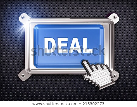 big profit button with hand cursor stock photo © tashatuvango