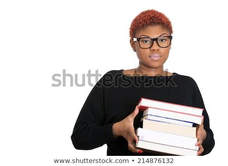 學習 不怕 書 書籍 表 一 商業照片 © maxmitzu