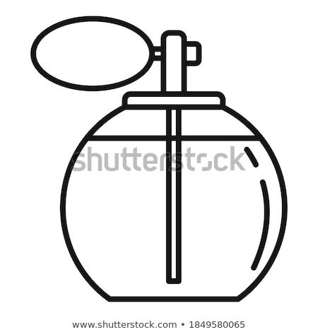 бутылок · косметики · изолированный · белый · фон · металл - Сток-фото © c-foto