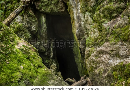 Cseh természetes örökség lyuk patak falu Stock fotó © Kayco