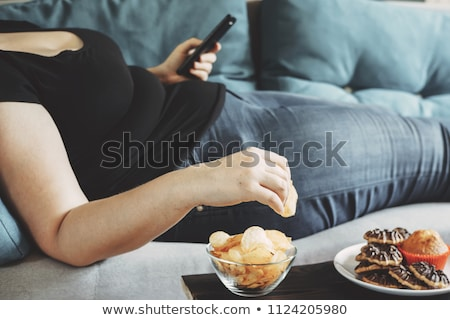 Over Eating Stock photo © Lightsource
