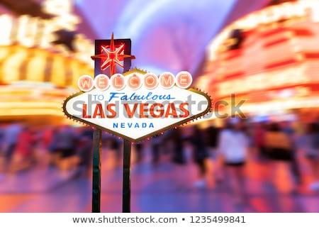 колесо Лас-Вегас Невада США весело казино Сток-фото © bmonteny