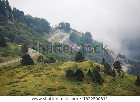 Road to Col de Pailheres Stock photo © RazvanPhotography