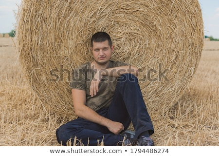 állásnélküli férfi rajz kalap szín hajléktalan Stock fotó © tiKkraf69