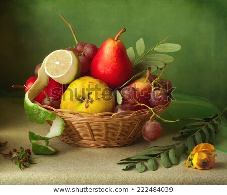 Retro kitchen table in nostalgic still life style stock photo © feelphotoart