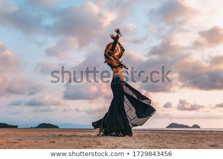 Mysterious girl stock photo © pressmaster