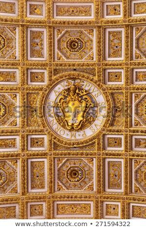 Cappotto braccia papa santo basilica Roma Foto d'archivio © creisinger