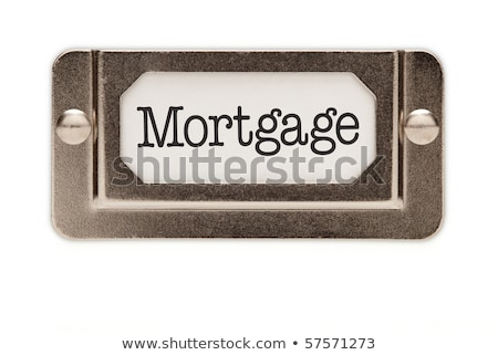 A drawer cabinet with the label Insurance Stock photo © Zerbor