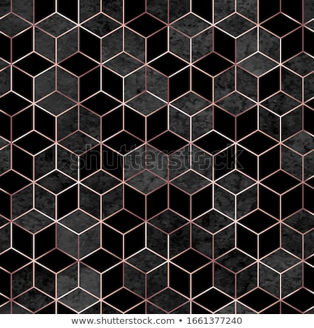 Golden hexagonal background. Seamless pattern. Stock photo © gladiolus