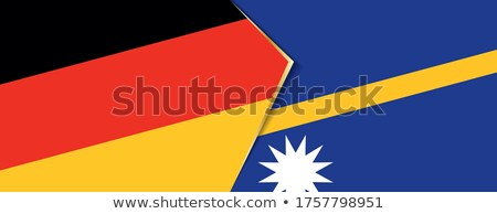 Germany and Nauru Flags Stock photo © Istanbul2009