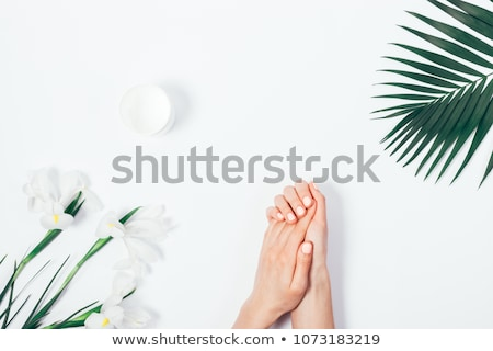 Composite image of hand with fingers spread out Stock photo © wavebreak_media