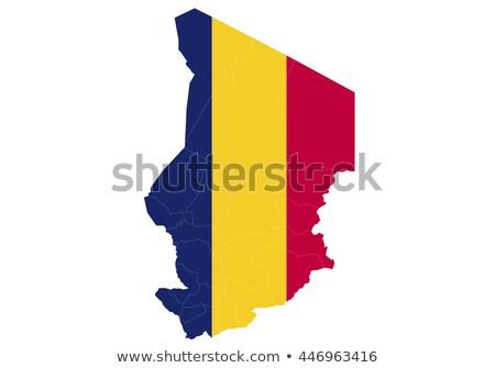 mapa · Camerún · político · regiones · resumen - foto stock © alex_grichenko
