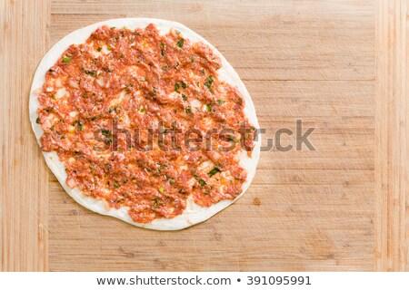 伝統的な トルコ語 準備 調理 肉 ストックフォト © ozgur