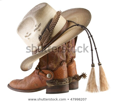 Cowboy Hat, Spurs and Boots Stock photo © lincolnrogers