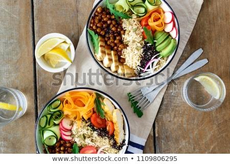 Taz n ensalada frescos grano dieta cereales for Tazon cereales