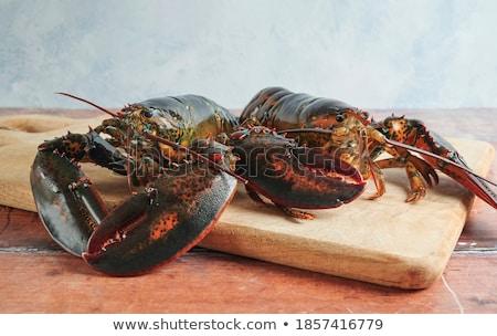 Dos rojo listo cocina bambú bordo Foto stock © ozgur