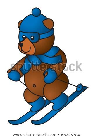 Humor juegos olímpicos ver punto vista establecer Foto stock © bonathos