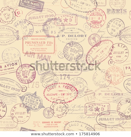 Collections of vintage postcards Stock photo © hsfelix