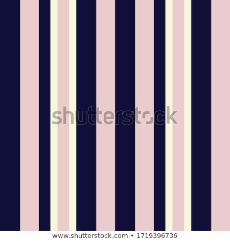 縞模様の 青 テーブルクロス 折られた 白 ストックフォト © Digifoodstock