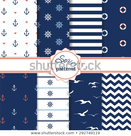 senza · soluzione · di · continuità · onda · pattern · onde · può · usato - foto d'archivio © pakete