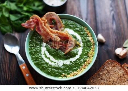 トマト · 野菜 · クリーム · スープ - ストックフォト © user_11224430