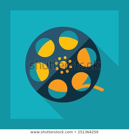 Film Reel вектора Тени дизайна фон фильма Сток-фото © SArts