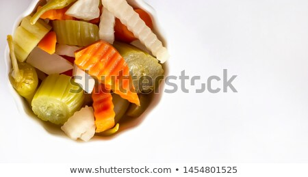 assorted pickled vegetables Stock photo © Digifoodstock
