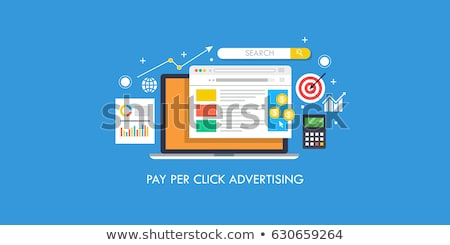 Pay per click concept. Stock photo © 72soul
