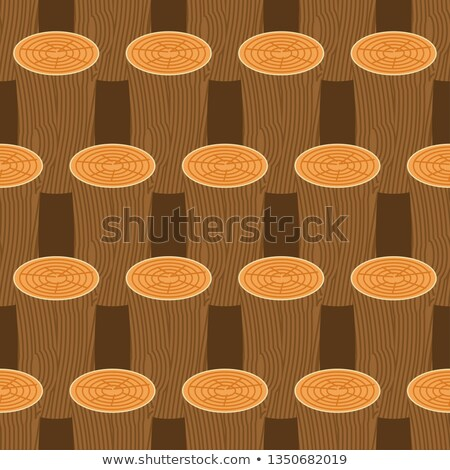 log seamless pattern. Wooden billet background. Woodpile Ornamen Stock photo © popaukropa
