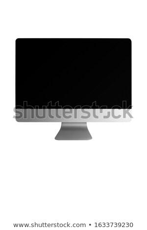 Közelkép feketekávé öntapadó jegyzet fehér kávé ital Stock fotó © wavebreak_media