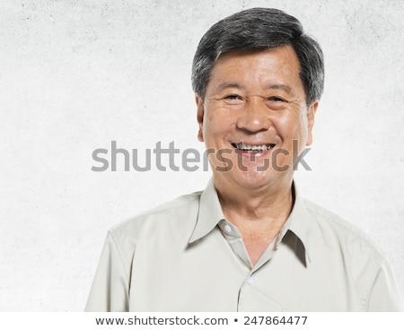 old asian man portrait stock photo © szefei