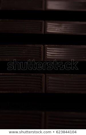 chocolate · escuro · bar · azulejos · doce · gordura - foto stock © deandrobot