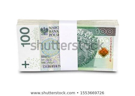 Macro uno cien dinero Foto stock © FOTOYOU
