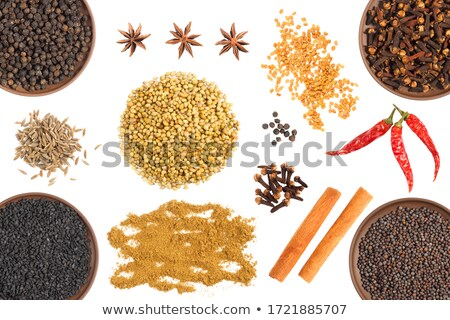 mustard and spices Stock photo © M-studio
