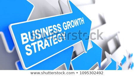Profit Growth - Label on the Blue Cursor. 3D. Stock photo © tashatuvango