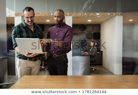 business colleagues talking stock photo © is2