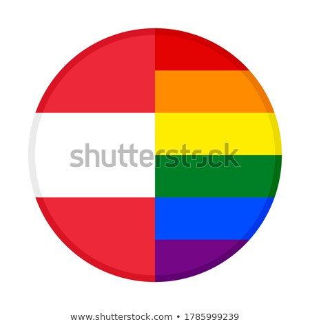 Austria LGBT flag. Austrian Symbol of tolerant. Gay sign rainbow Stock photo © popaukropa