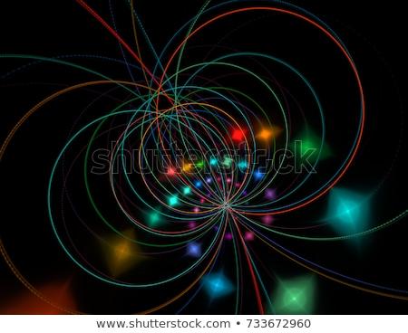 Przestrzeni ciąg teoria streszczenie wektora projektu Zdjęcia stock © paulart