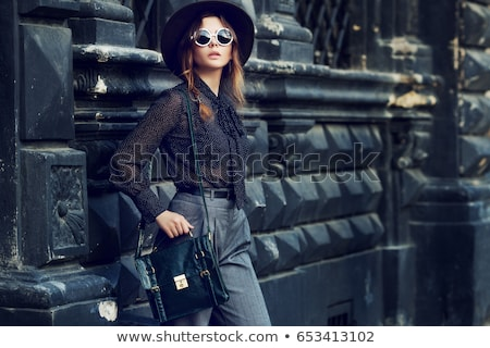предпринимателей брюки блузка портфель Сток-фото © robuart