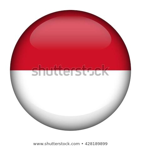Banderą Indonezja odznakę ilustracja projektu sztuki Zdjęcia stock © colematt