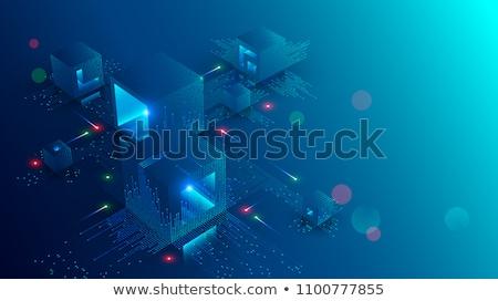 izometryczny · nowoczesne · komputera · zestaw · Internetu · projektu - zdjęcia stock © decorwithme