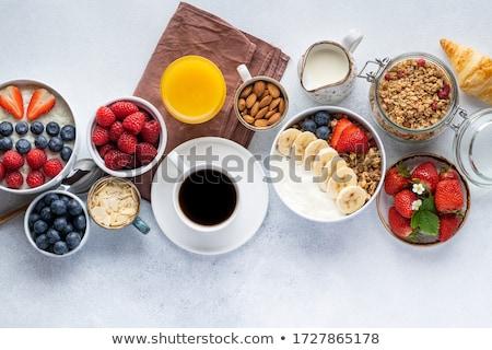 start · dieet · morgen · illustratie · evenwicht - stockfoto © lightsource