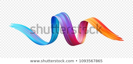 Abstract Shape Poster Vector. Background For Poster Design. Smear, Stripe. Illustration Stock photo © pikepicture