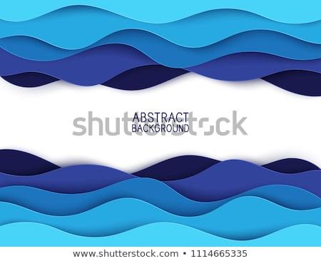 水 ベクトル 波 実例 デザイン ストックフォト © blaskorizov