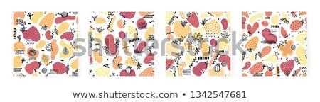 cute · kurtyny · kopia · przestrzeń · wektora · ściany · streszczenie - zdjęcia stock © user_10144511