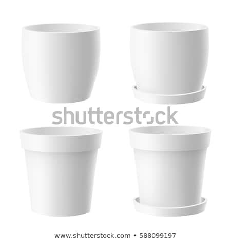 Four pots of flowers Stock photo © colematt