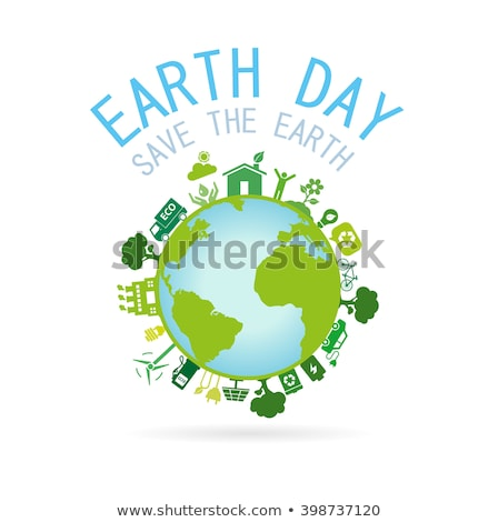 earth day ecology nature conservation planet humanity house Stock photo © studiostoks