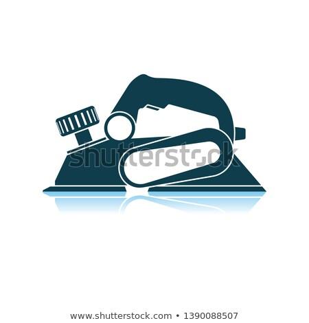 elektromos · vasaló · izolált · vektor · ikon · modern - stock fotó © angelp