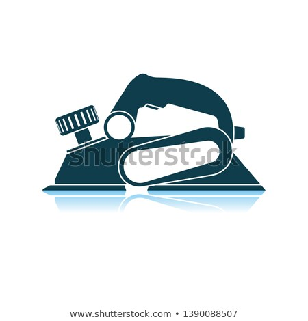 Electric planer icon Stock photo © angelp